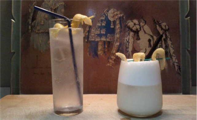 Tom Collins y Ramos Gin Fizz