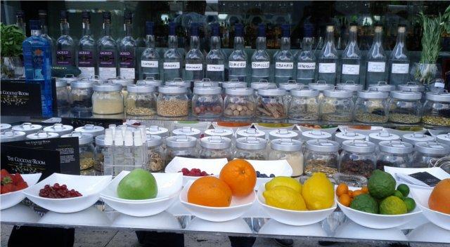 botánicos para gin-tónic
