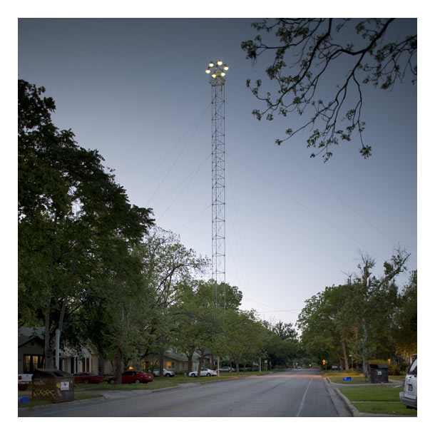 City Lights Austins Historic Moonlight Towers Not Even