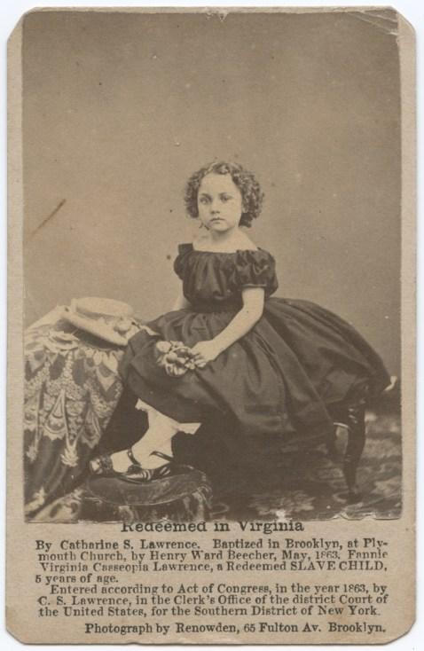 Redeemed Slave Child in Virginia