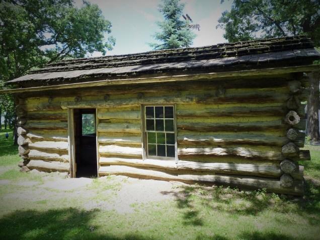 Okoboji, where we visited Abbie Gardner's cabin