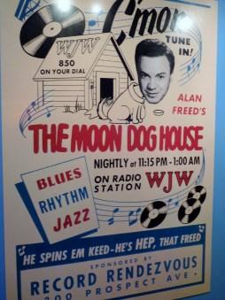 Alan Freed (1921-1965) Moondog Cleveland Hall of Fame
