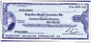 travelllers cheques