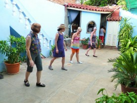 Dance lessons to Cuban music