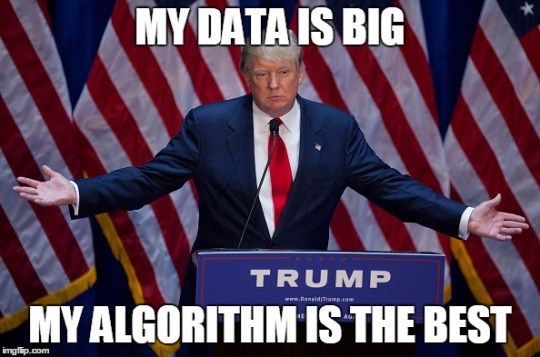 Trump Big Data Meme