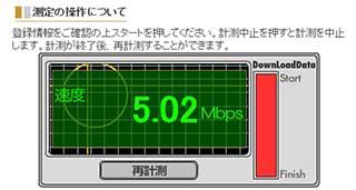 goo スピードテスト 5.02Mbps