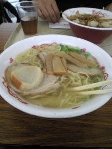 味彩塩拉麺(函館麺厨房あじさい)