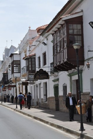 Streets around Sucre