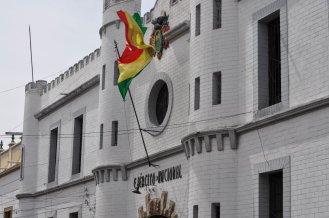 Sucre Bolivian Flag
