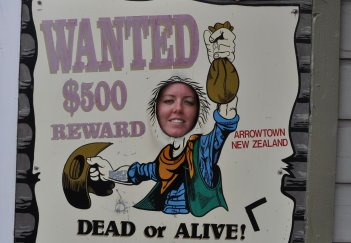 Eva causing trouble in Arrowtown