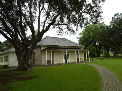 Waitangi Treaty House grounds and museum