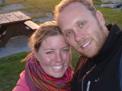 Bill & Eva at Hokitika