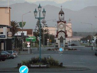 Hokitika town