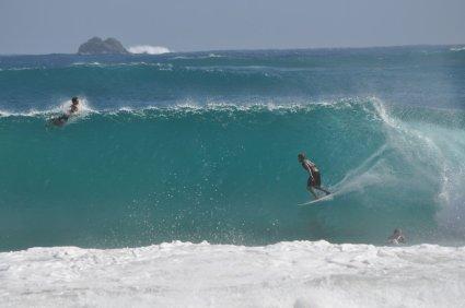 Surfs up at Byron Bay
