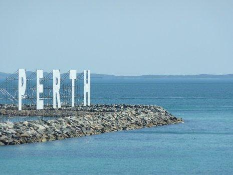 Fremantle PERTH sign