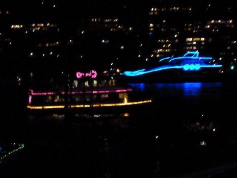Harbour of light parade