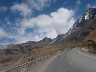 Death Road Bolivia bike ride