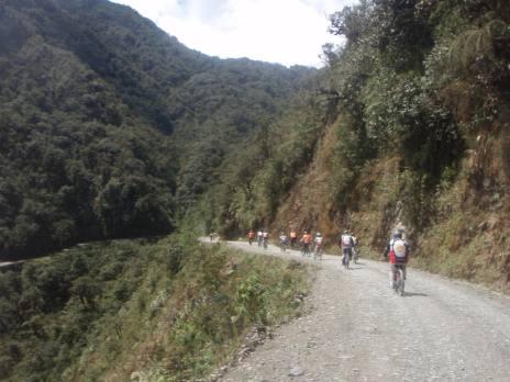 Death Road Bolivia Downhill Mountain Biking