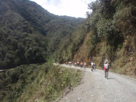 Death Road Bolivia Downhill Mountain Biking