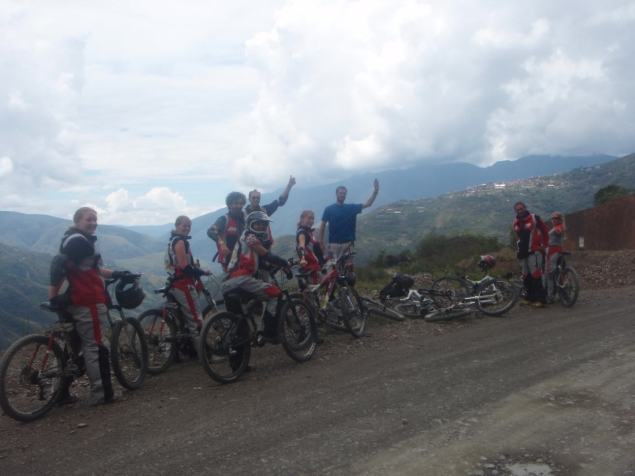 Death Road Bolivia Mountain Biking