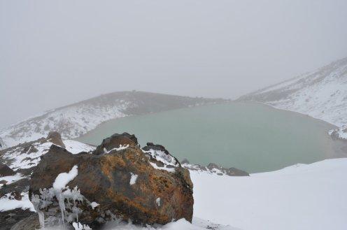 Tongariro Alpine Crossing volcano