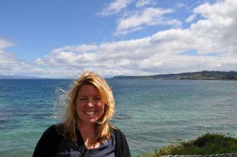 Eva at Lake Taupo