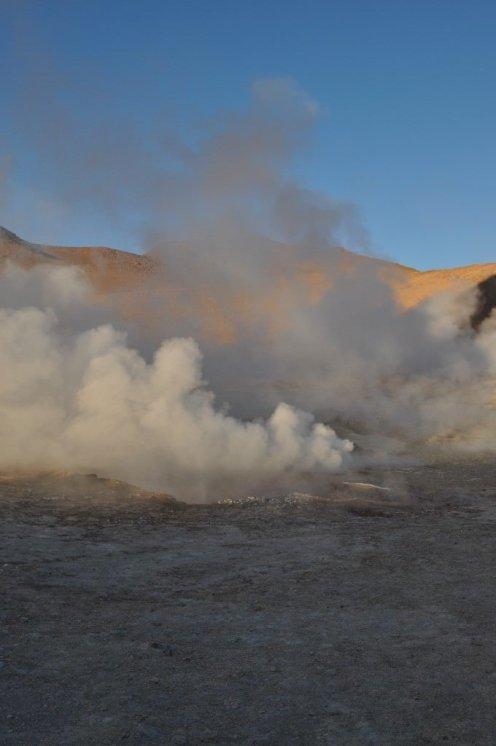 Bolivia, Volcanic activity