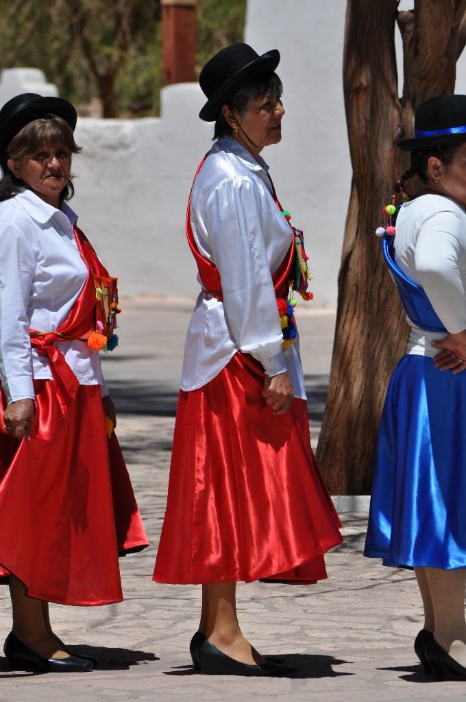 San Pedro De Atacama, Traditional dress