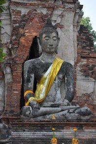 Ancient ruins at Ayutthaya