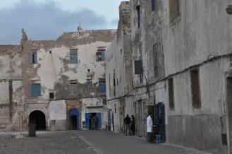 The derelict Jewish Quarter