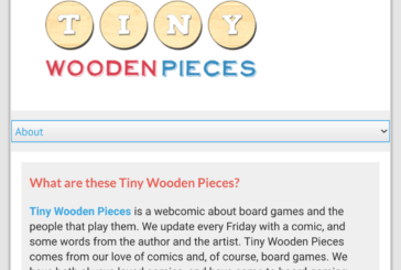 Tiny Wooden Pieces: A Webcomic about Board Games