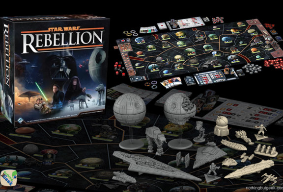 Star Wars: Rebellion Board Game announced by Fantasy Flight Games