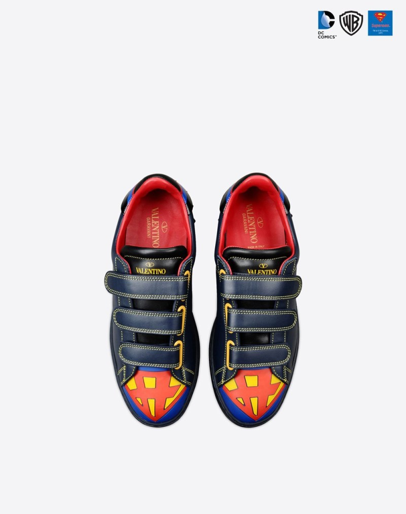 Valentino Superman Sneakers