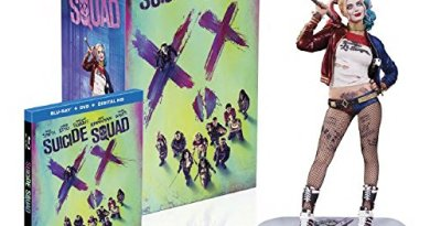 Amazon's Suicide Squad (Amazon-Exclusive) (Harley Quinn Figurine) (Blu-ray + DVD + UltraViolet Combo Pack)