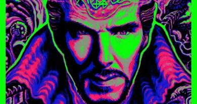 Marvel's Doctor Strange Blacklight IMAX poster