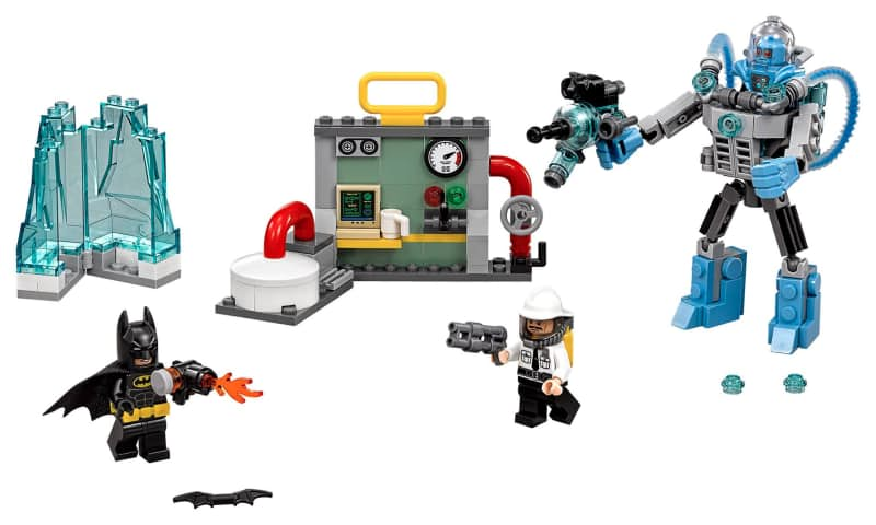 The LEGO Batman Movie Mr. Freeze Ice Attack set