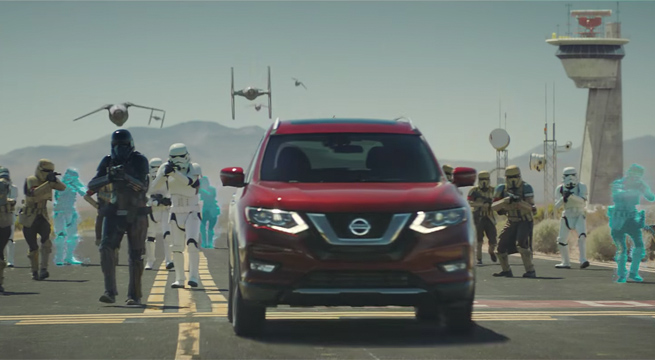 Nissan Rogue Stars In A Rogue One: A Star Wars Story TV Spot