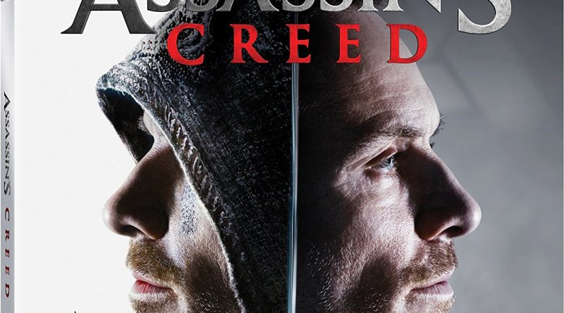 Assassin's Creed Blu-Ray cover