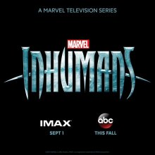 Marvel's Inhumans logo panel