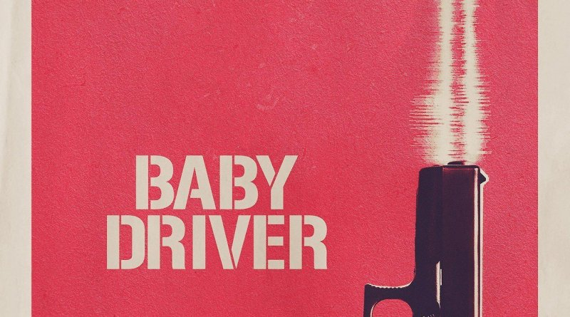 """Poster for the movie """"Baby Driver"""""""