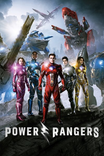 """Poster for the movie """"Power Rangers"""""""