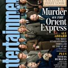 Murder On The Orient Express Entertainment Weekly cover