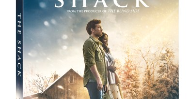 The Shack Blu-Ray/DVD/Digital HD combo (Lionsgate Home Entertainment)