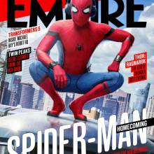 Empire Magazine Spider-Man: Homecoming cover