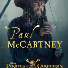 Paul McCartney's Pirates Of The Caribbean: Dead Men Tell No Tales poster