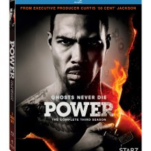 Power Season 3 Blu-Ray cover (Lionsgate Home Entertainment)