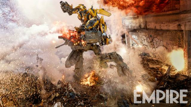 Transformers: The Last Knight Bumblebee still courtesy of Empire Magazine
