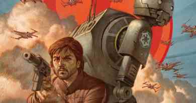 Marvel's Rogue One: Cassian & K-2SO Star Wars prequel comic cover