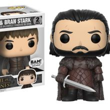 HBO's HBO's Game Of Thrones Funko Pop Vinyls Jon Snow & Bran Stark combo packOf Thrones Funko Pop Vinyls