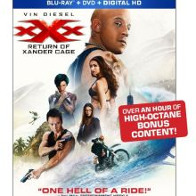 XXX: Return Of Xander Cage Blu-Ray/DVD/Digital HD cover